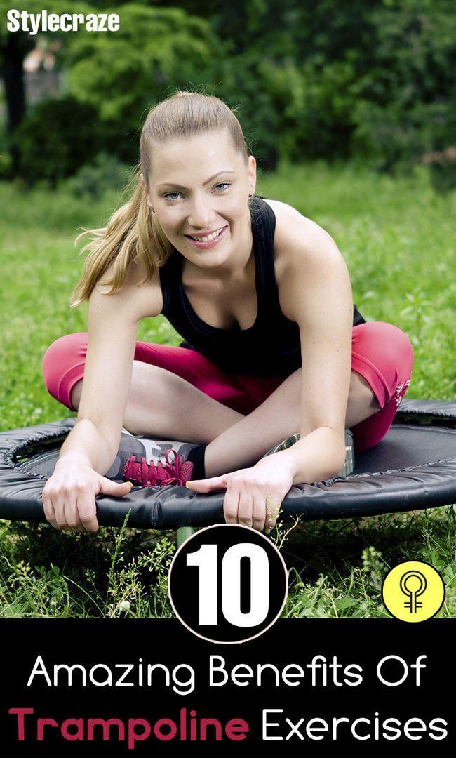 10 Amazing Vorteile der Trampolin-Übungen auf Ihrem Körper
