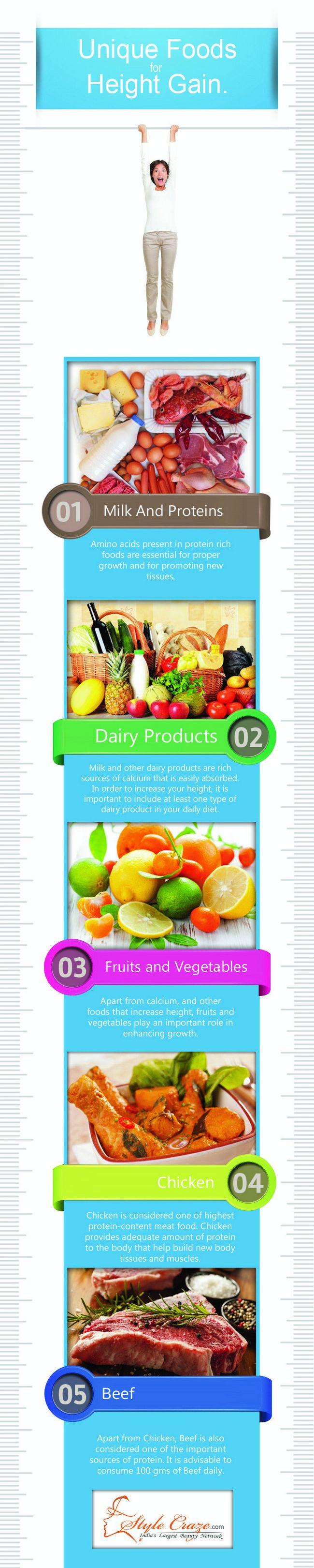 10 Amazing Lebensmittel und Ernährung zur Steigerung der Höhe
