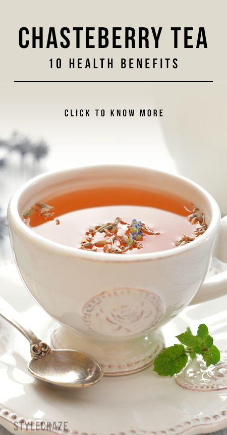 10 Amazing gesundheitliche Vorteile von Mönchspfeffer Tee