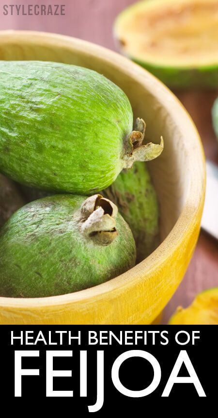 10 Amazing gesundheitlichen Vorteile von feijoa