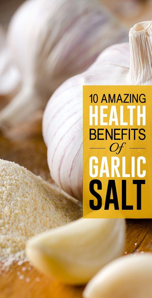 10 Amazing Nutzen für die Gesundheit von Knoblauch Salz