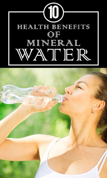 10 Amazing Nutzen für die Gesundheit von Mineralwasser