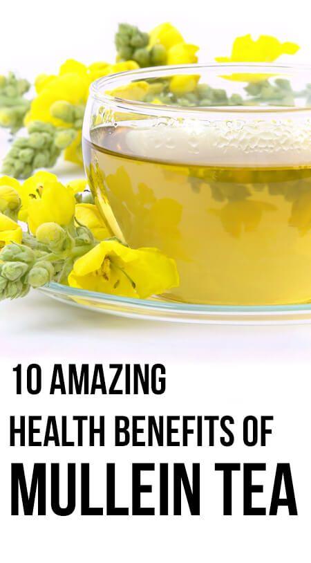 10 Amazing gesundheitlichen Vorteile von mullein Tee