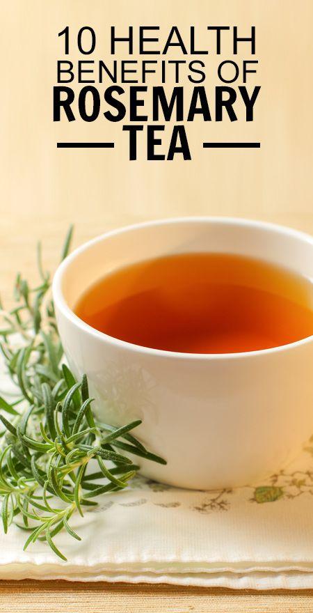10 Amazing gesundheitliche Vorteile von Rosmarin Tee