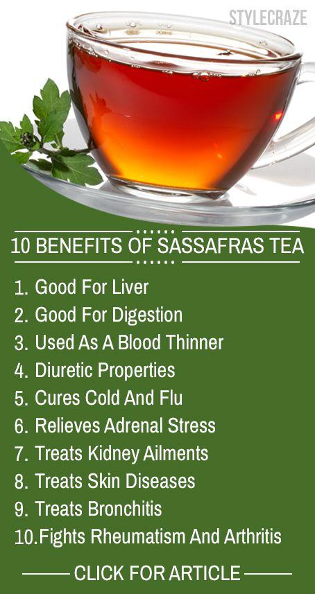 10 Amazing gesundheitliche Vorteile von Sassafras Tee