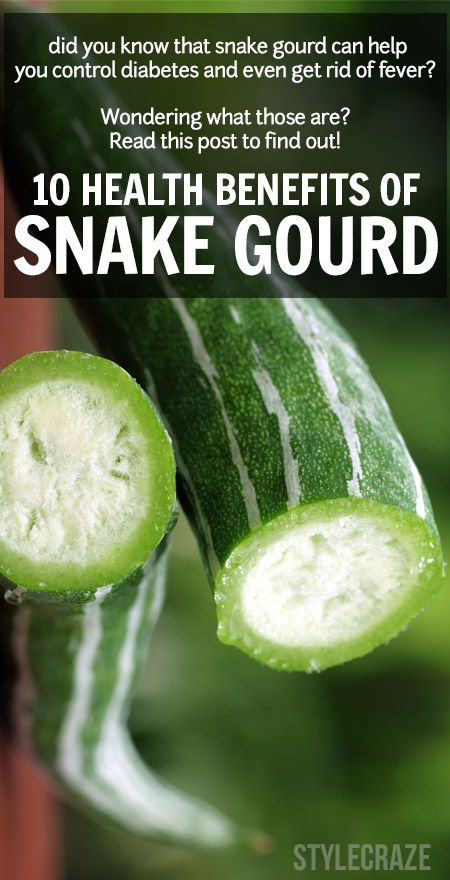 10 Amazing Nutzen für die Gesundheit der Schlange Kürbis (chichinda)