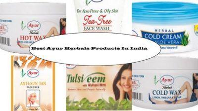 10 Top ayur herbals Produkte in Indien