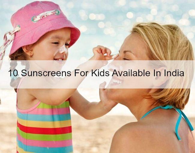 10 Beste Baby-Sonnenschutzmittel für Kinder in Indien