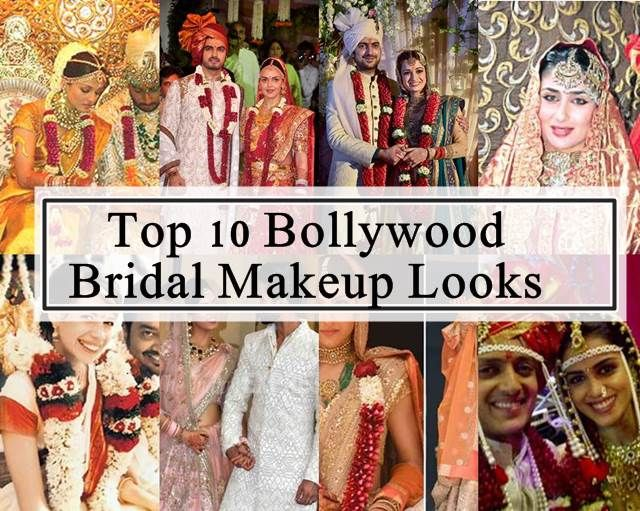 10 Top bollywood Braut Make-up Looks
