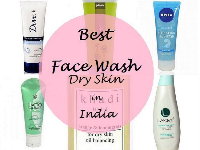 10 Beste Gesicht wäscht für trockene Haut in Indien: unter Rs.250