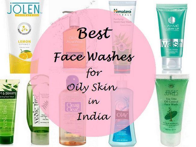 10 Beste Gesicht wäscht für fettige Haut in Indien
