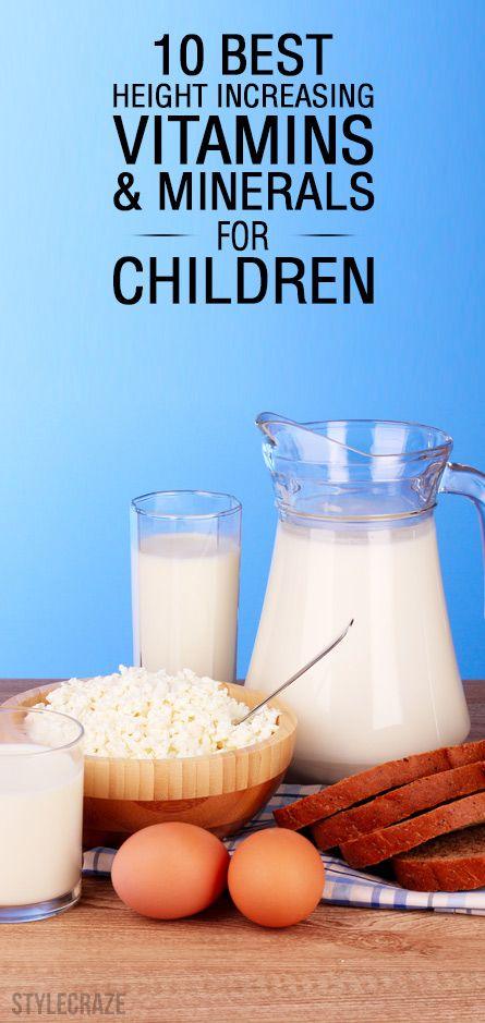 10 Beste zunehmende Höhe Vitamine und Mineralien für Kinder