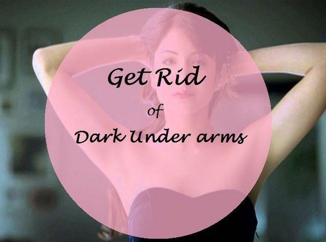 10 Die besten Hausmittel zur Aufhellung von dunklen unter Waffen