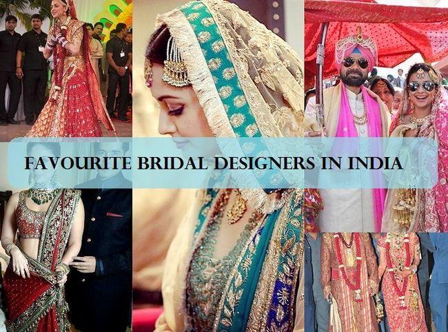 10 Beste indische Braut-Designer
