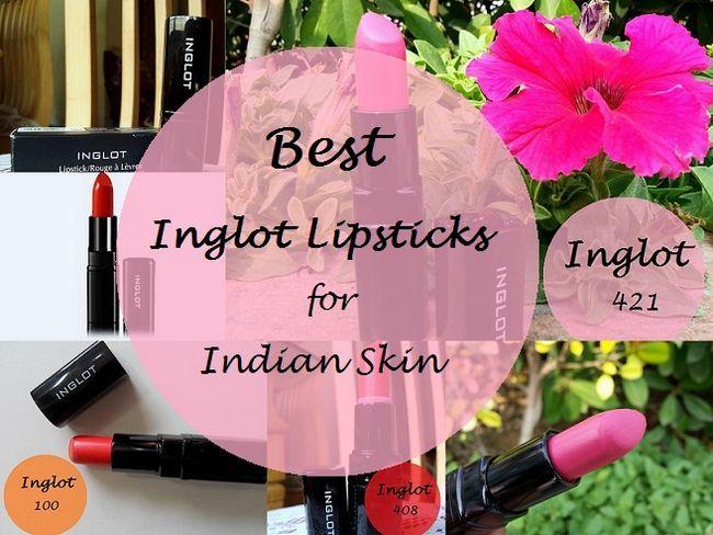 10 Die besten Inglot Lippenstifte für indische Hauttöne