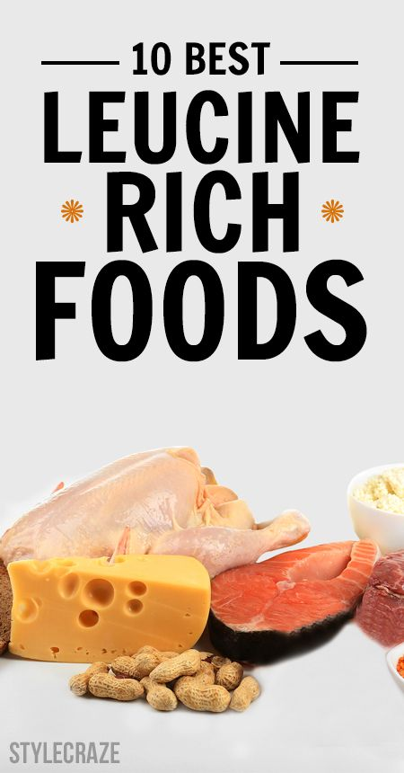 10 Die besten Leucin-reichen Lebensmitteln