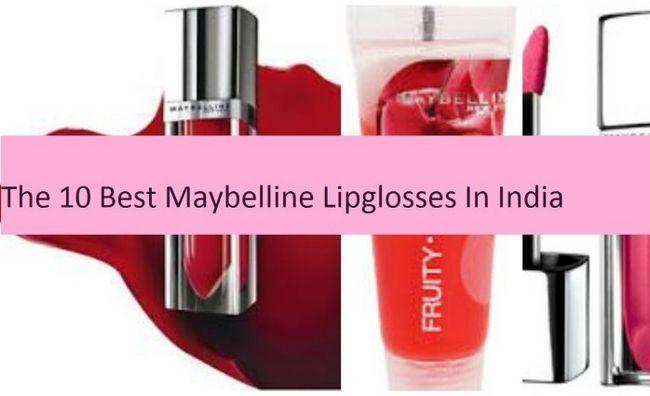 10 Top maybelline Lipgloss in Indien verfügbar