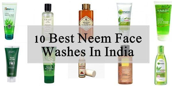 10 Top Neem Gesicht wäscht in Indien