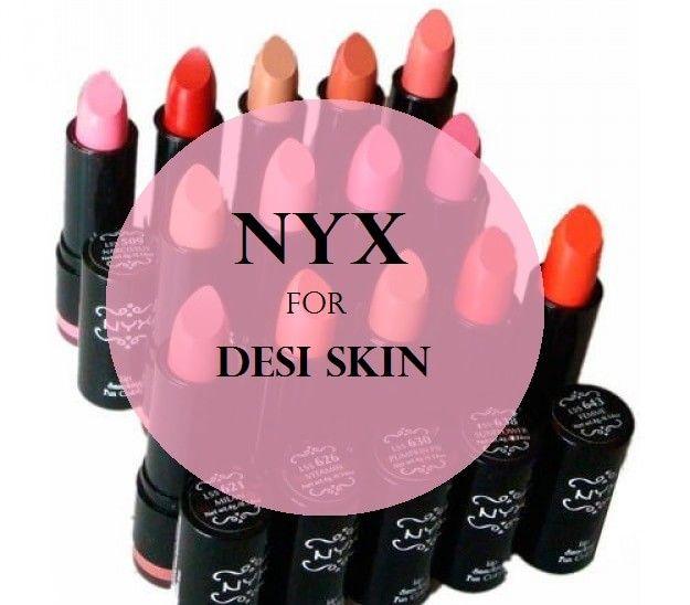 10 Top nyx runde Lippenstifte für fair zu dunkelen indischen Hautton