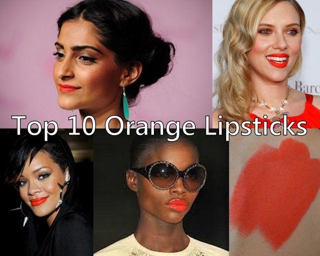 10 Die besten Orange Lippenstifte für indische Hauttöne