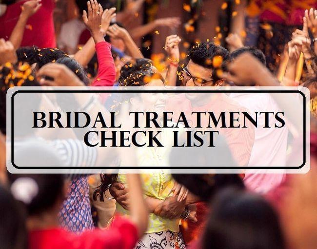 10 Die besten Pre-Brautschönheitsbehandlungen: indian Hochzeiten Checkliste