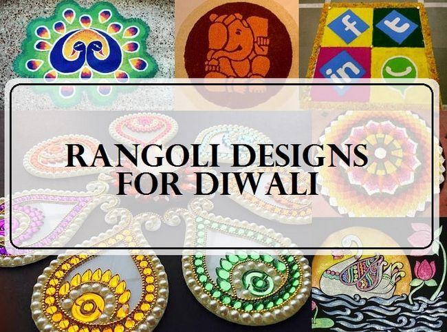 10 Top rangoli Entwürfe für Diwali-Fest 2015
