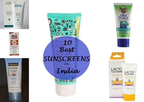 10 Top sunscreens in Indien: fettige Haut, trockene Haut mit Preisen