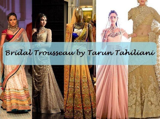 10 Top tarun tahiliani Bridal Collection Designs: lehengas mit Preisen