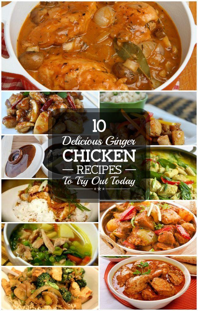 10 Köstliche Ingwer Huhn Rezepte heute ausprobieren