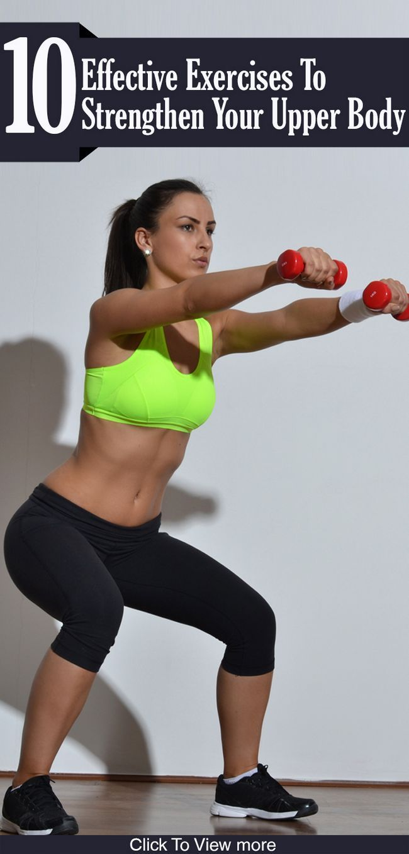 10 Effektive Übungen Oberkörper zu stärken