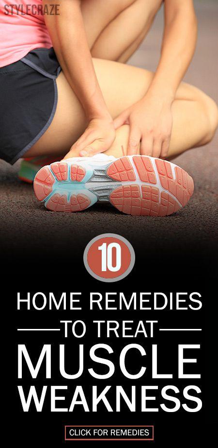 10 Wirksame Hausmittel Muskelschwäche zu behandeln