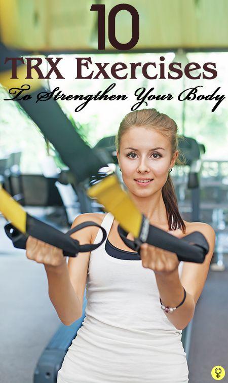 10 Effektive TRX-Übungen Ihren Körper zu stärken