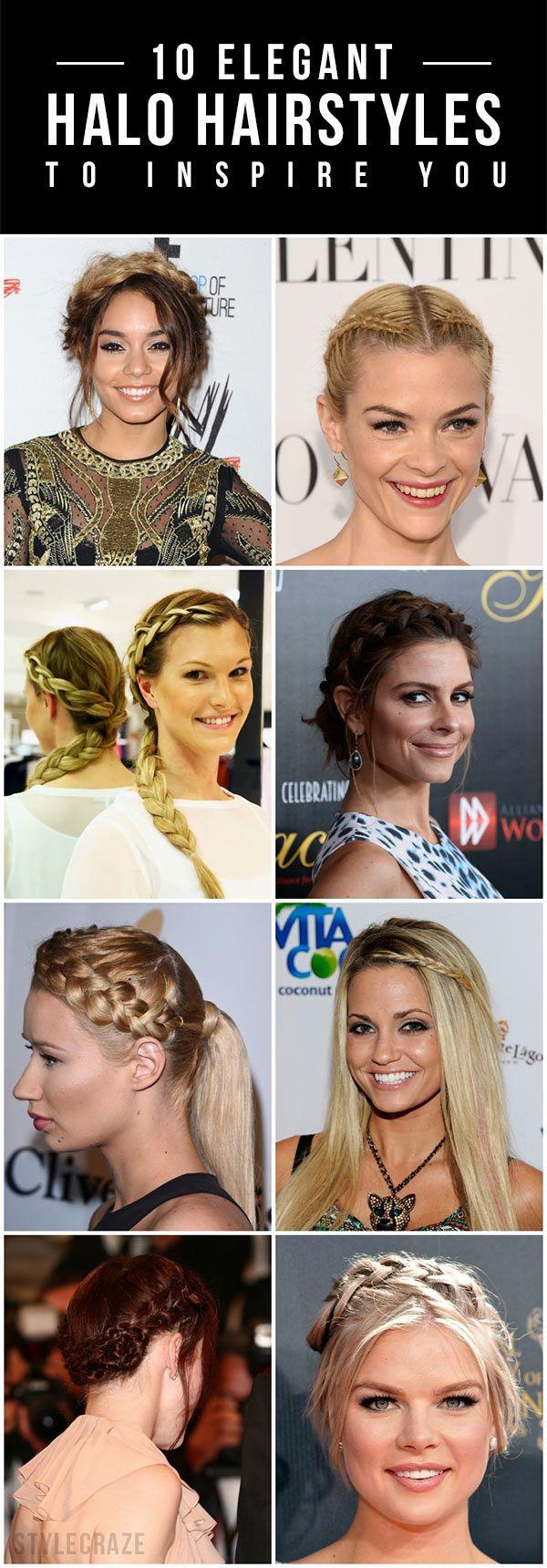 10 Elegante Halo Frisuren Sie zu inspirieren