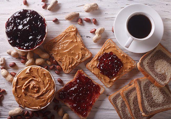 10 Füllung Toast Topper unter 100 Kalorien
