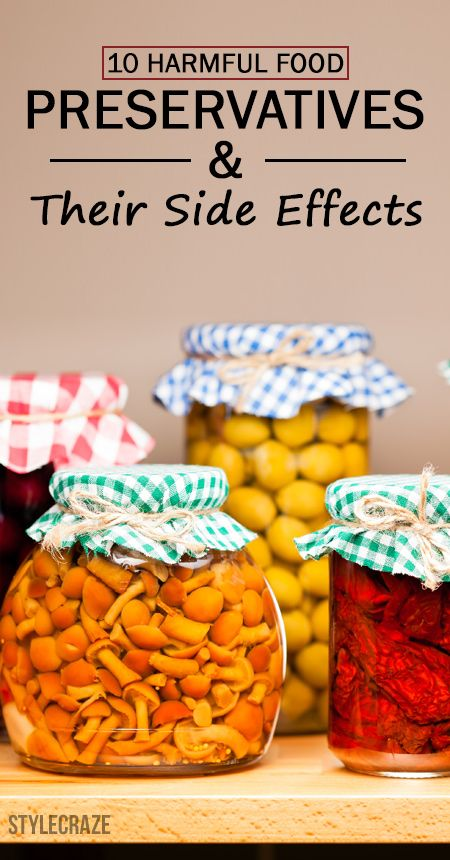 10 Schädlich Konservierungsstoffe und ihre Nebenwirkungen