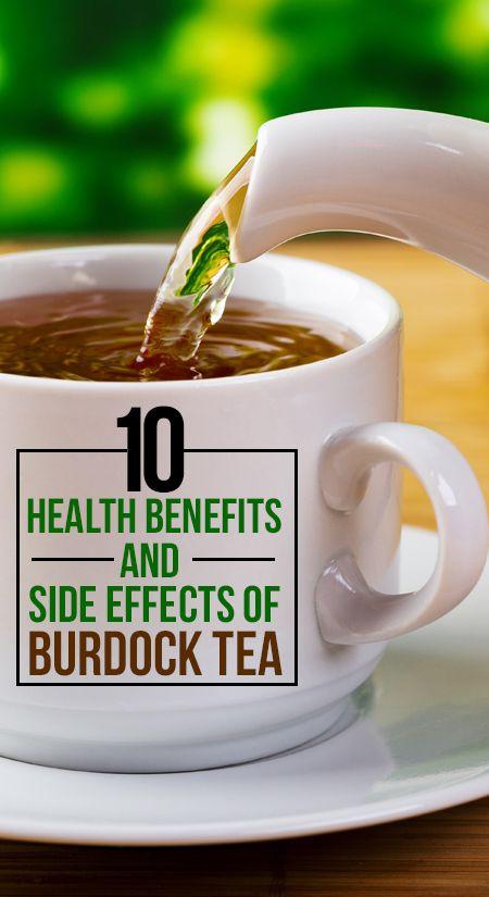10 Gesundheitliche Vorteile und Nebenwirkungen von Klette Tee