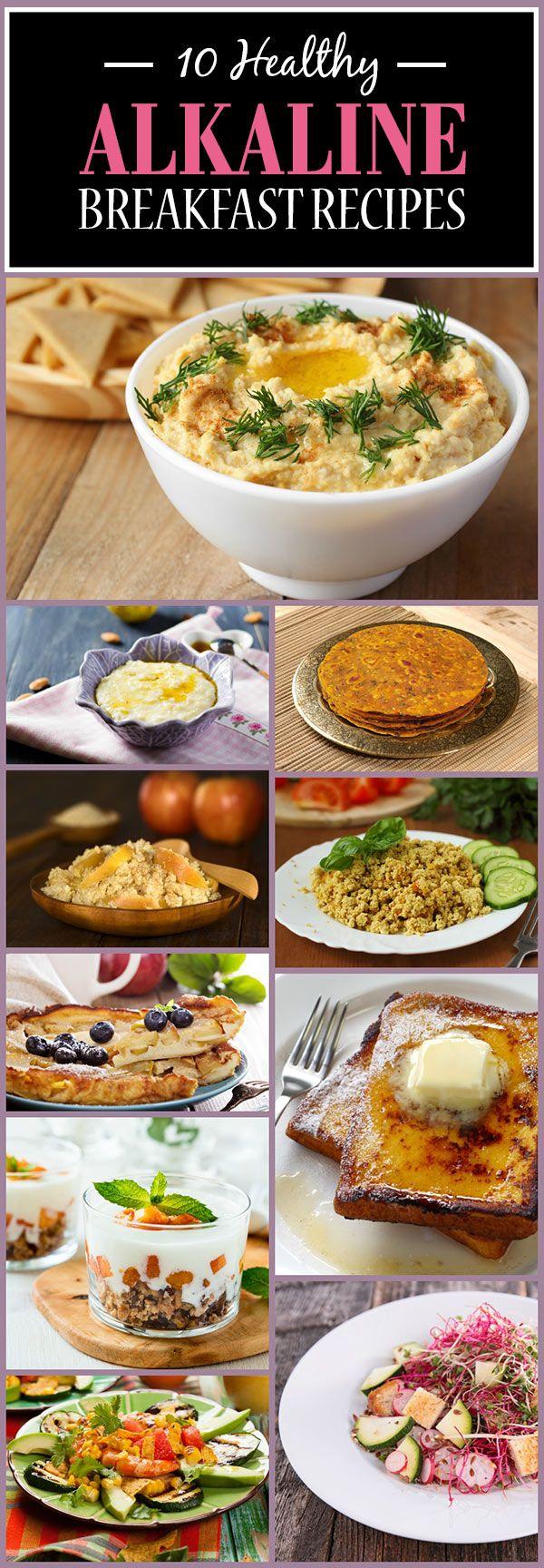 10 Gesunde alkalische Frühstück Rezepte, die Sie müssen versuchen,