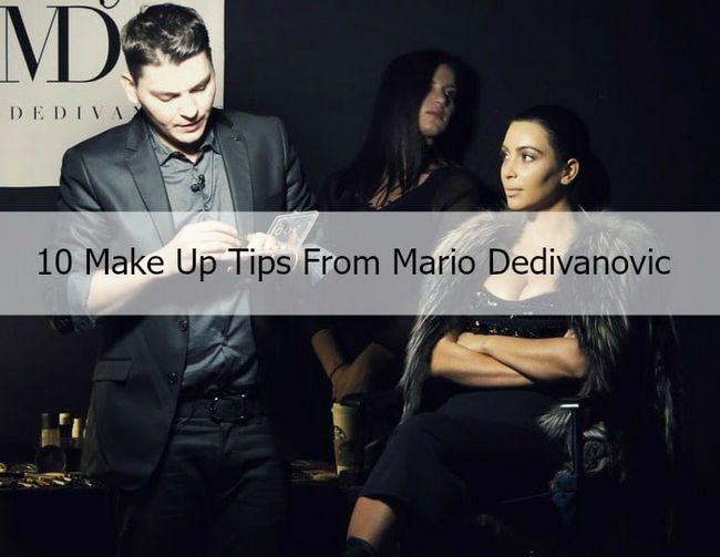 10 Mario dedivanovic Make-up Tipps kim kardashian Make-up zu töten