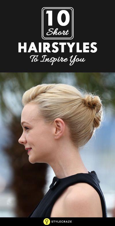 10 Neue Kurzhaarfrisuren, Sie zu inspirieren