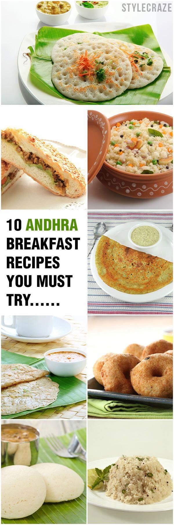 10 Schnelle und einfache andhra Frühstück Rezepte, die Sie müssen versuchen,