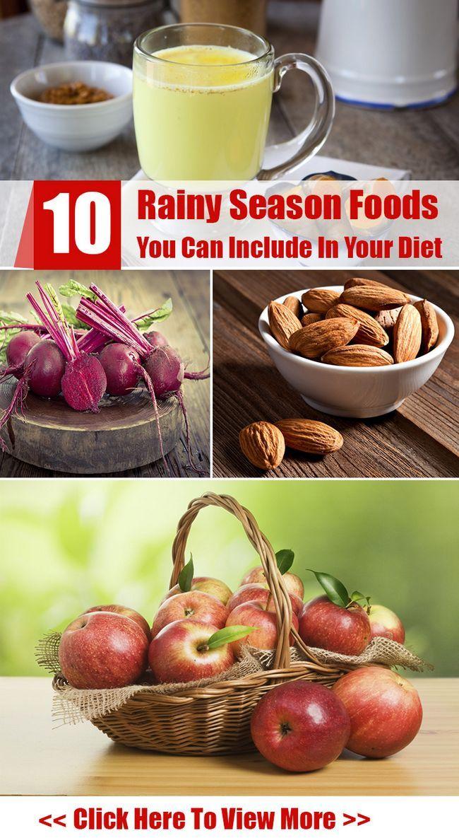 10 Regenzeit Lebensmittel können Sie in Ihrer Ernährung