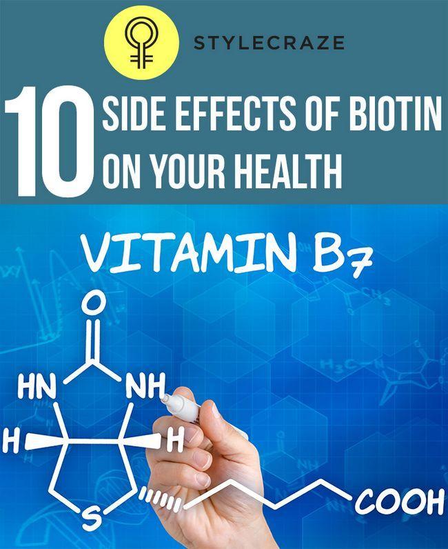 10 Schwerwiegende Nebenwirkungen von Biotin auf Ihre Gesundheit