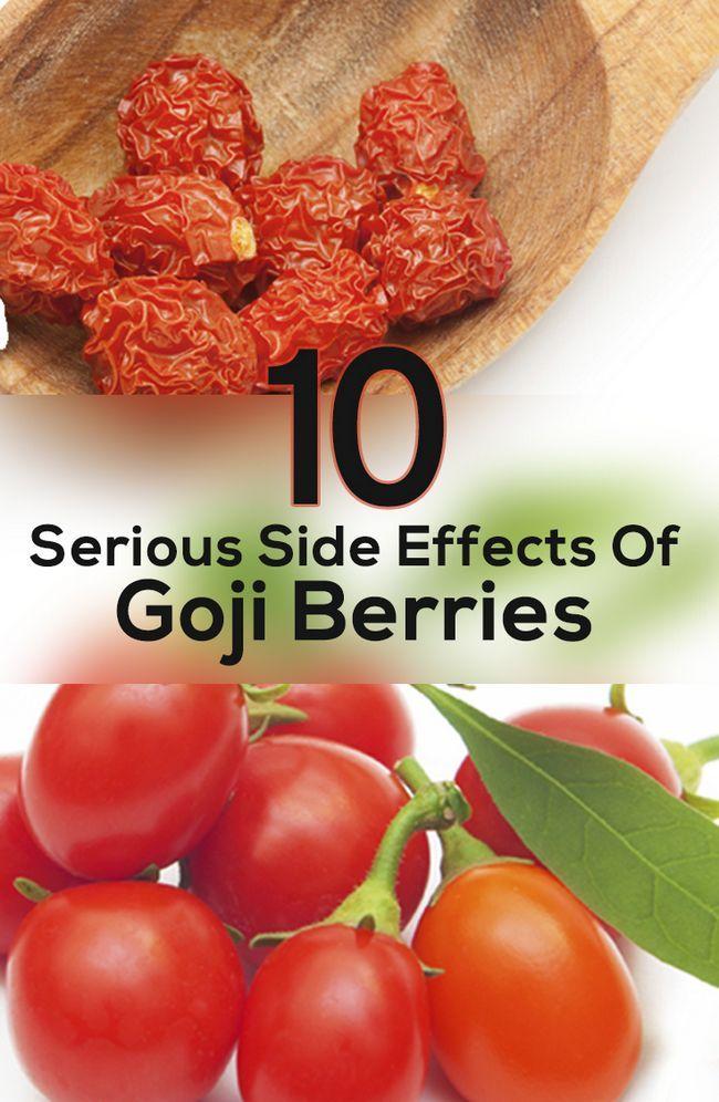 10 Schwerwiegende Nebenwirkungen von Gojibeeren