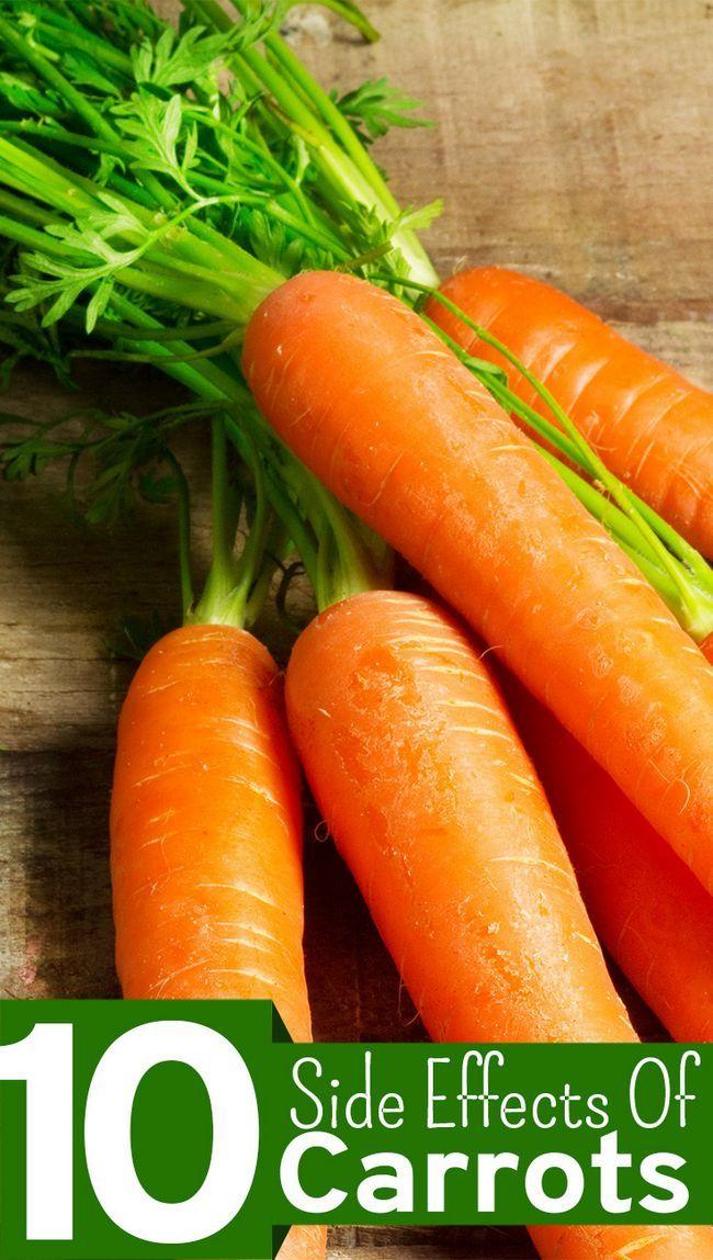 10 Nebenwirkungen von Karotten sollten Sie sich bewusst sein,