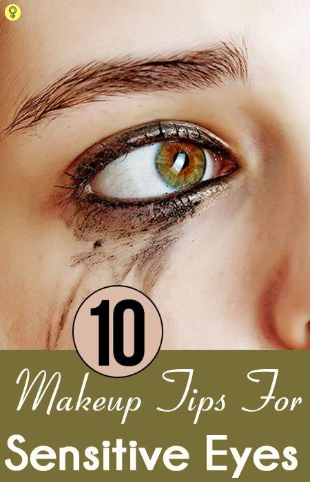 10 Einfache Make-up Tipps für empfindliche Augen