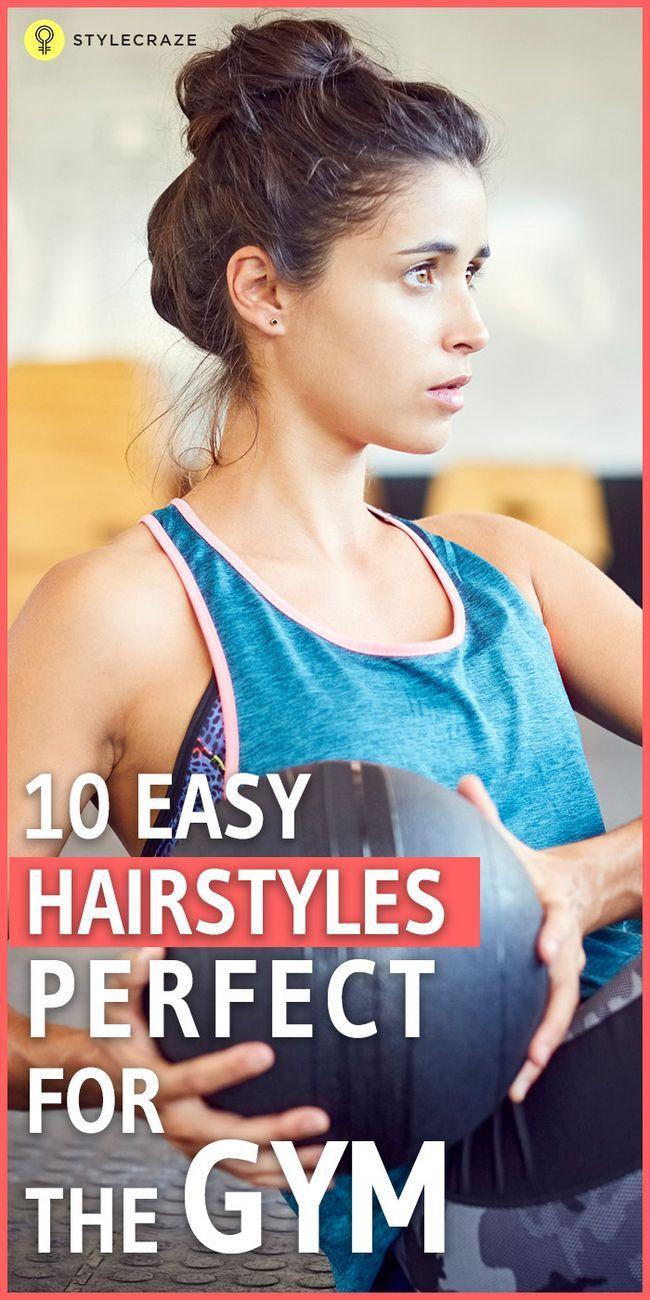 10 Sporty Turnhalle Frisuren für kurze Haare