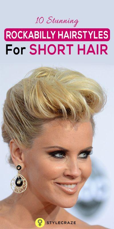 10 Stunning Rockabilly Frisuren für kurzes Haar
