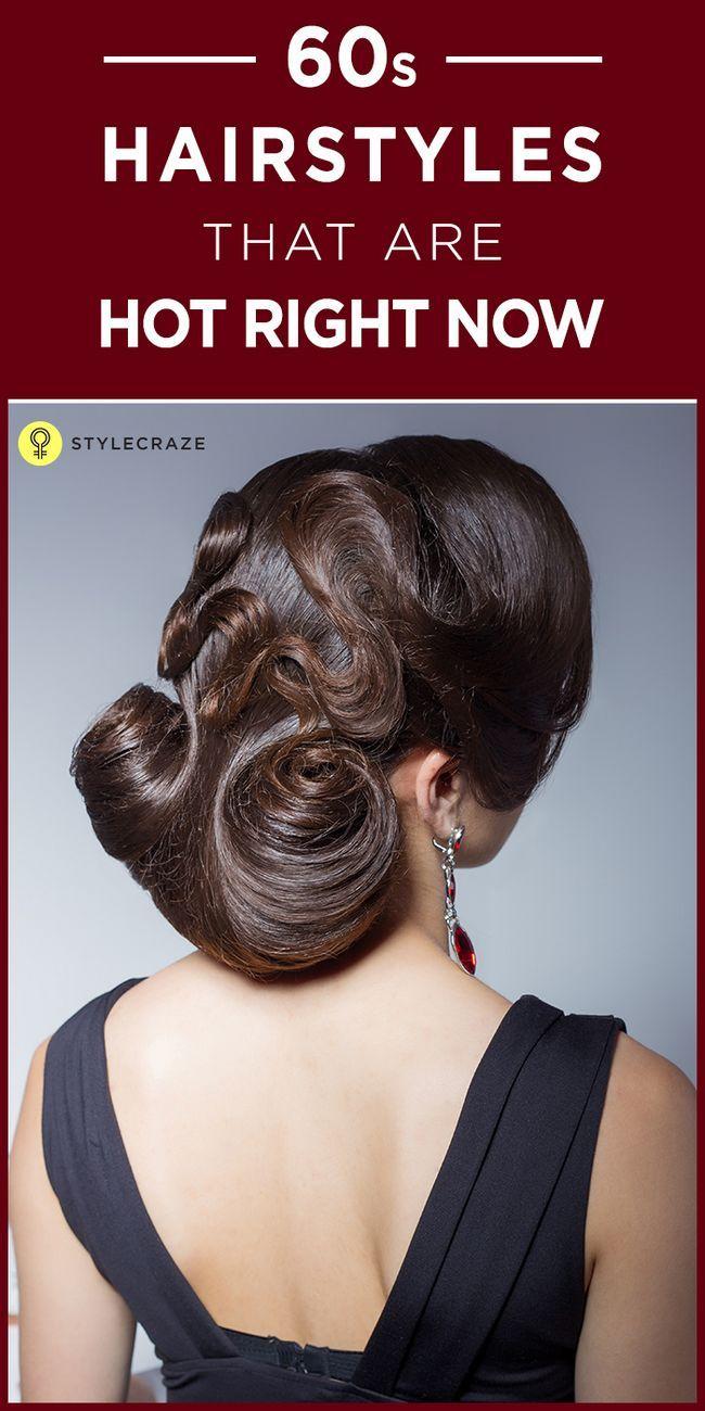 10 Stilvolle lange Frisuren aus den 60er Jahren