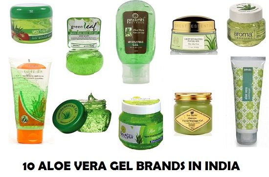 10 Top beste Aloe Vera Gel Marken in Indien