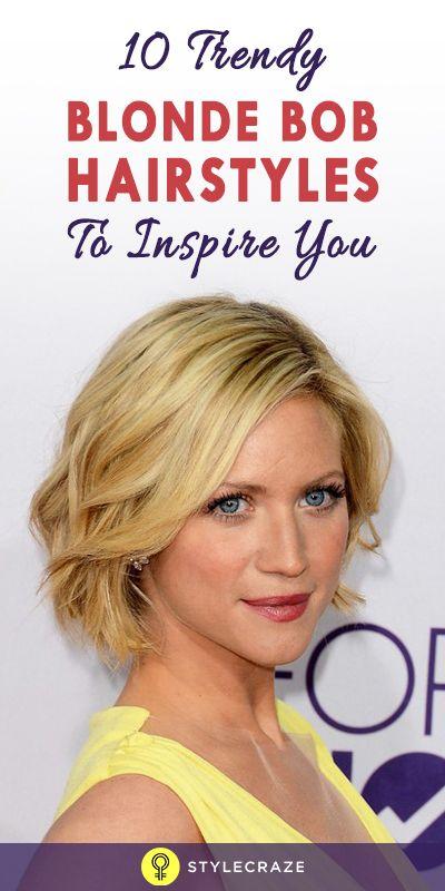 10 Trendy blonde Bob Frisuren, Sie zu inspirieren